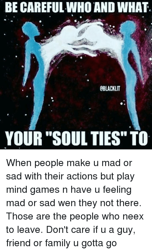 how to break soul ties with someone
