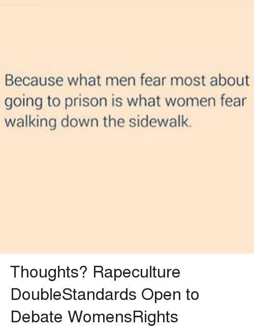 What is the fear of women