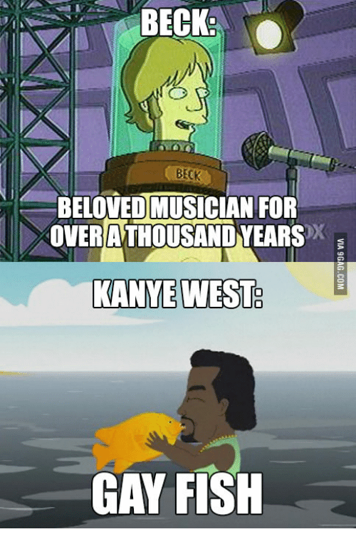 Kanye the gay fish