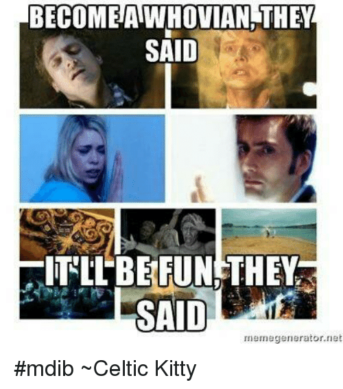 BECOME AWHOVIAN THEY SAID ITILBERUN THEY SAID Meme Generator