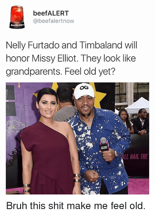 beefalert beefalertnow beefalert nelly furtado and timbaland will honor missy 24856500 ✅ 25 best memes about missy elliot missy elliot memes,Missy Meme