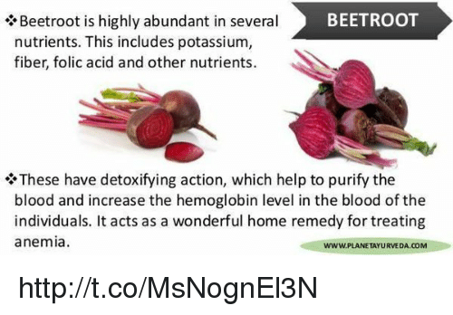 BEETROOT Beetroot Is Highly Abundant in Several Nutrients This