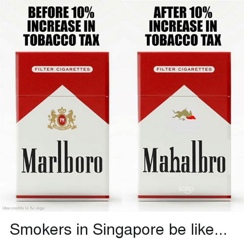 How much is a packet of Marlboro cigarettes in Los Angeles