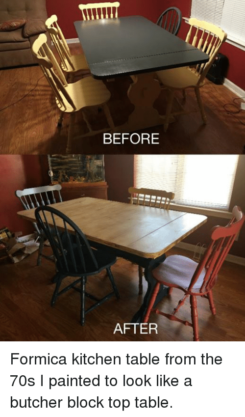 memes paintings and paint before after formica kitchen table from the 70s i - Formica Kitchen Table