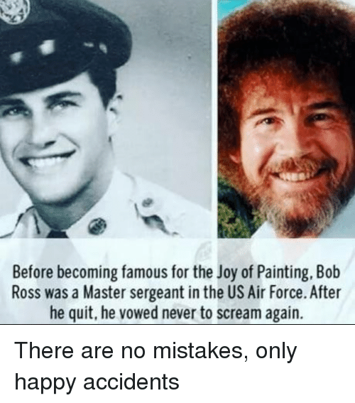 ac9eab5c784f6 Before Becoming Famous for the Joy of Painting Bob Ross Was a Master ...