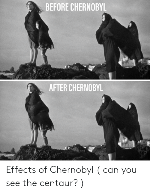 BEFORE CHERNOBYL AFTER CHERNOBYL Effects of Chernobyl Can