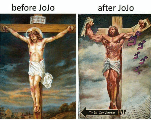 before jojo after jojo to be continued 21878428 before jojo after jojo to be continued jojo meme on me me