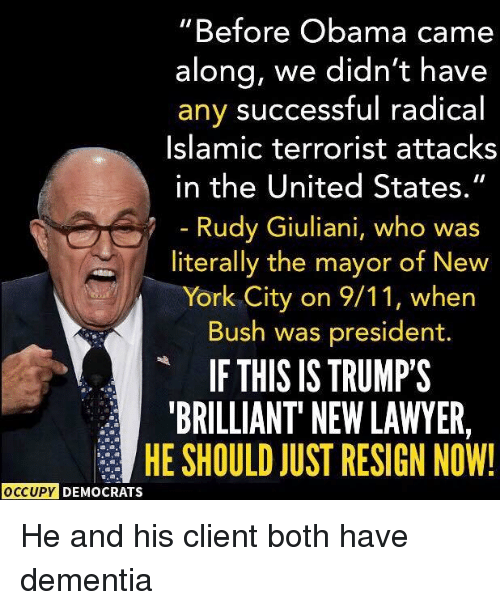 Image result for giuliani demented