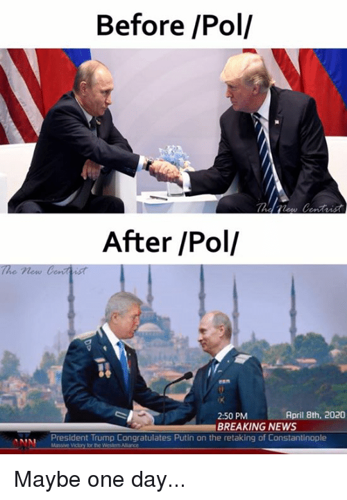 before pol after pol the new centtist april 8th 2020 25751622 before pol after pol the new centtist april 8th 2020 250 pm breaking