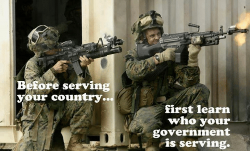 "Image result for ""before serving your country"""