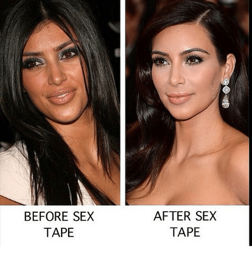 Before after sex