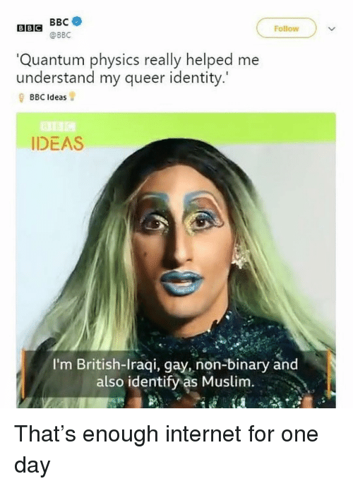 and also identify as gay