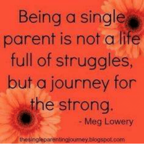 an essay on the struggles of a single parent But if married working parents are struggling with time management these days,  imagine the struggles of low-income single parents.