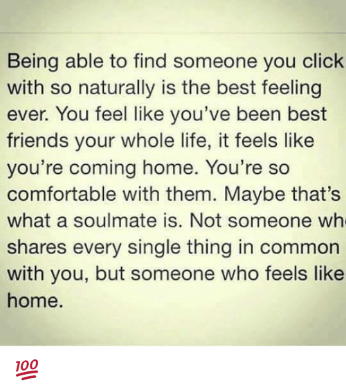 Not Being Able To Be With Your Soulmate