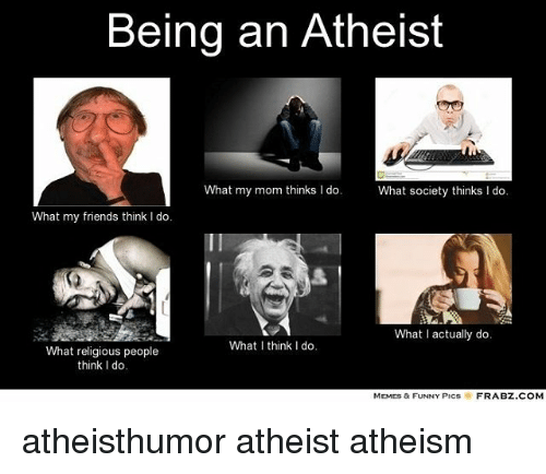atheist dating a religious person Are atheists okay with dating a religious person this is no way for an atheist to deal with a religious person with whom he or she is interested in forming a.