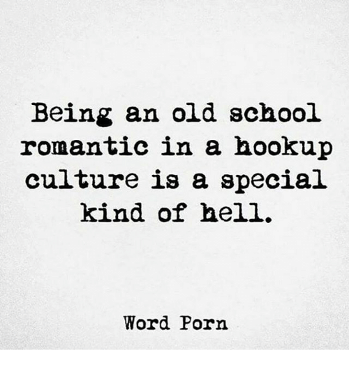 Hook up culture is