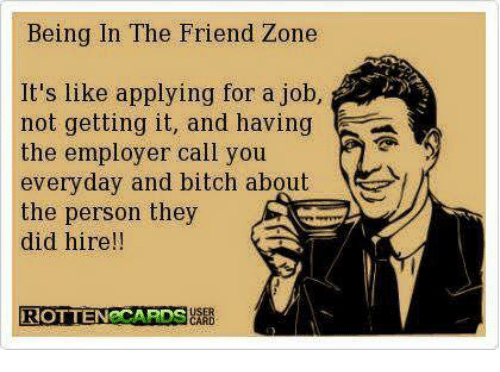 How to not be in the friend zone