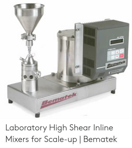 Bematek Bematek Laboratory High Shear Inline Mixers for