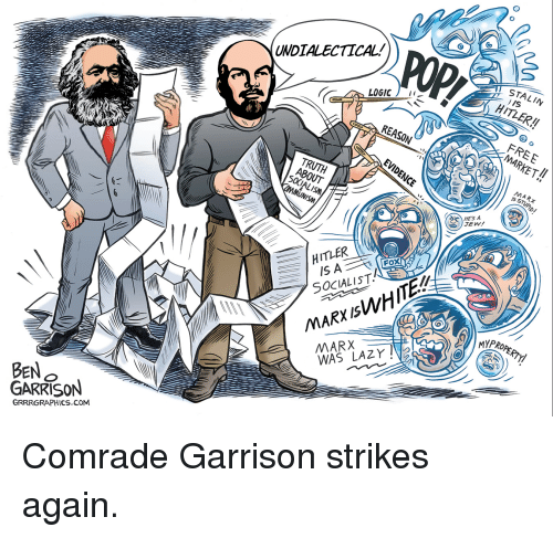 ben o garrison grrrgraphic undialectical logic reason about munism