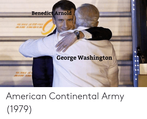Army, American, and George Washington: Benedict Arnold  George Washington American Continental Army (1979)
