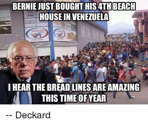 Memes Beach And House Bernie Just Bought His4th In Venezuela I