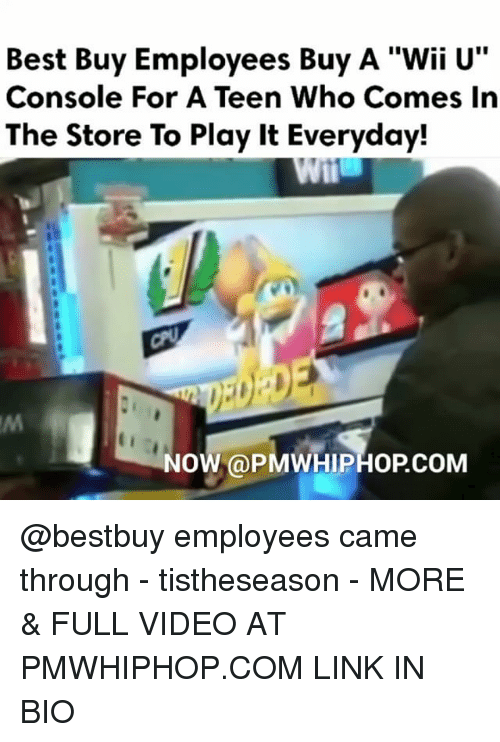 best buy employees buy a wii u console for a 8843193 25 best wii u console memes consolence memes, cut memes, when memes