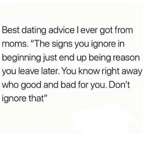 the best dating advice i ever got