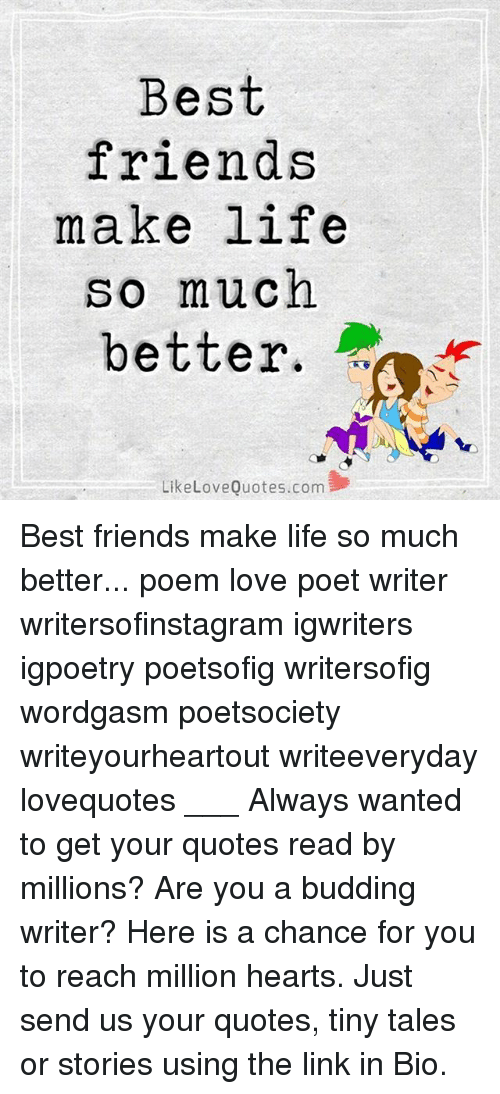 best friend and lover poems
