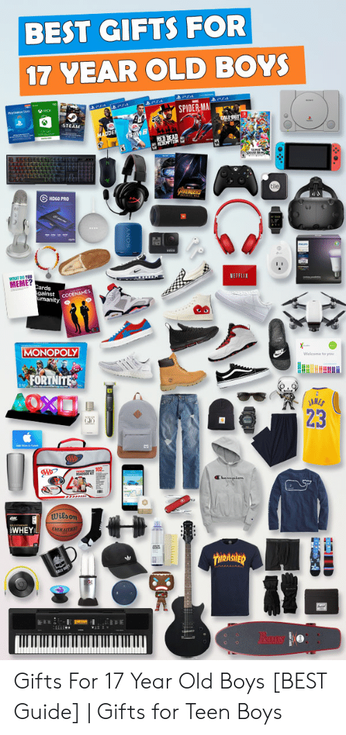 great gifts for teen boys