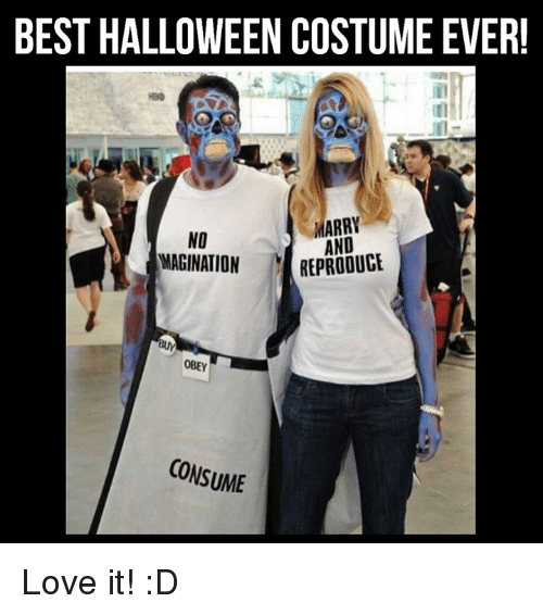 BEST HALLOWEEN COSTUMEEVER! MARRY NO AND MAGINATION