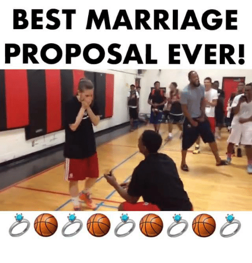 Best Marriage Proposal Ever Meme On Me