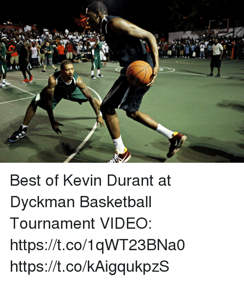 cfcd2fca9318 Best of Kevin Durant at Dyckman Basketball Tournament VIDEO ...