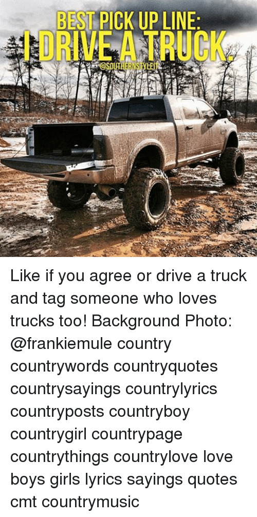 best drive by pick up lines