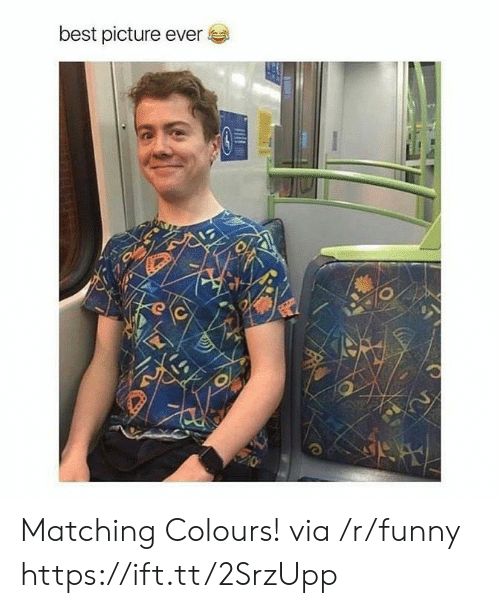 Funny, Best, and Best Picture: best picture ever Matching Colours! via /r/funny https://ift.tt/2SrzUpp
