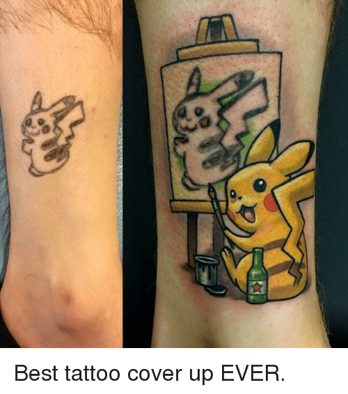 Best Tattoo Cover Up EVER   Meme on ME.ME