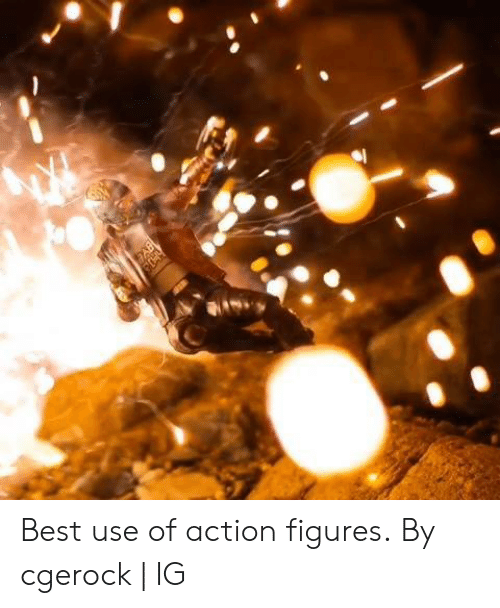 Dank, Best, and Action Figures: Best use of action figures.  By cgerock | IG