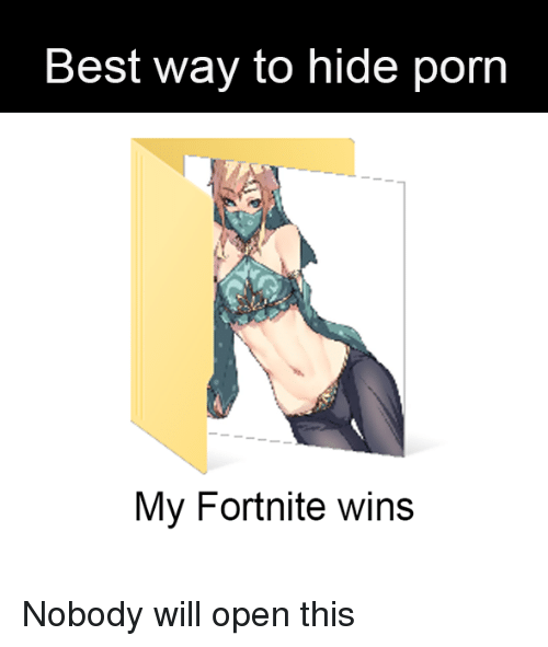 best way to hide porn