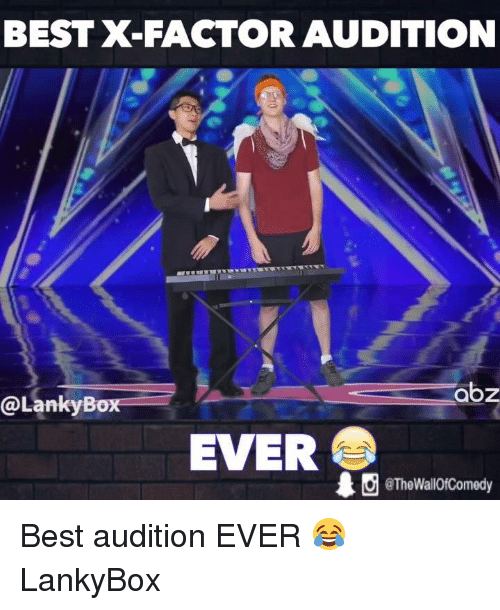 BEST X-Factor AUDITION Abz Box EVER Wall0fComedy Best