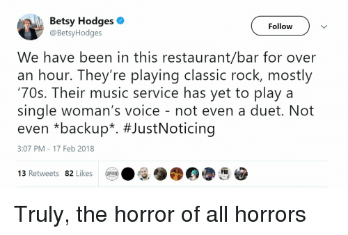 Betsy Hodges Follow We Have Been in This Restaurantbar for