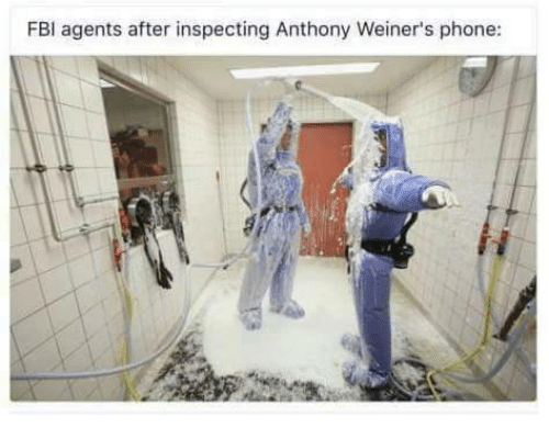 Memes, Phone, and Anthony Weiner: BI agents after inspecting Anthony Weiner's phone