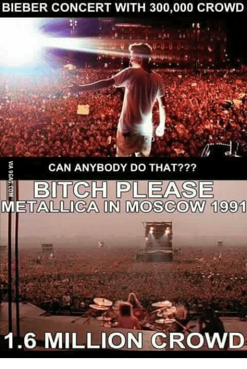 BIEBER CONCERT WITH 300000 CROWD CAN ANYBODY DO THAT? BITCH PLEASE