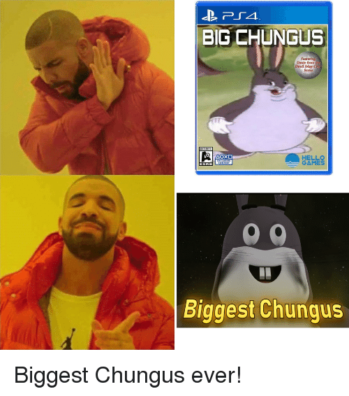 Big Chungus Dante From Devil May Series Hello Games Biggest Chungus