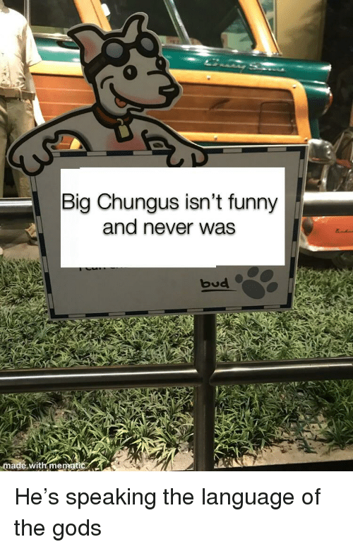 Big Chungus Isn T Funny And Never Was Made With Me Funny Meme On Me Me