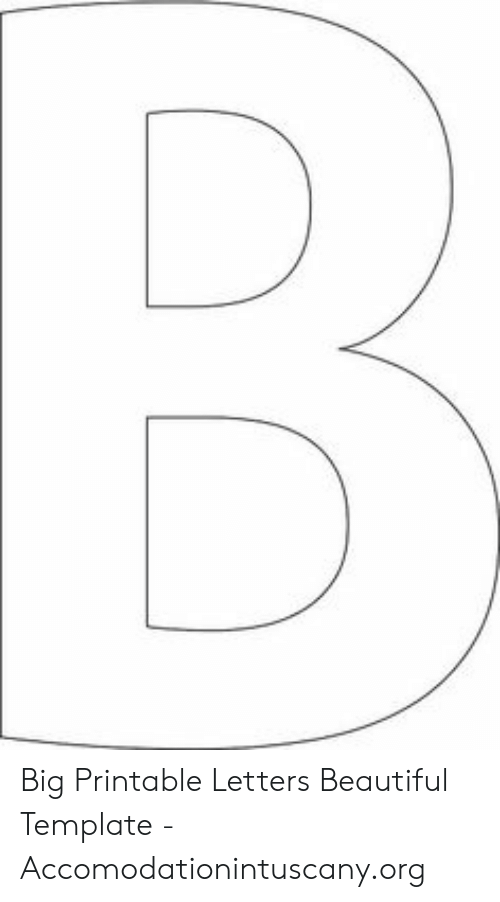 photo regarding Big Printable Letters named Large Printable Letters Appealing Template