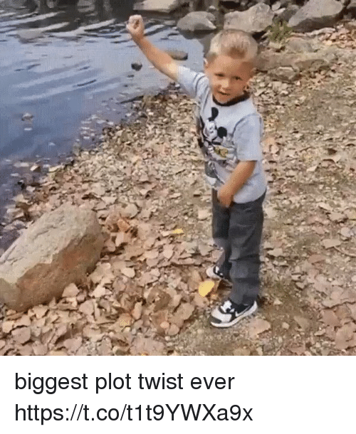 Relatable, Twisted, and Plot: biggest plot twist ever https://t.co/t1t9YWXa9x