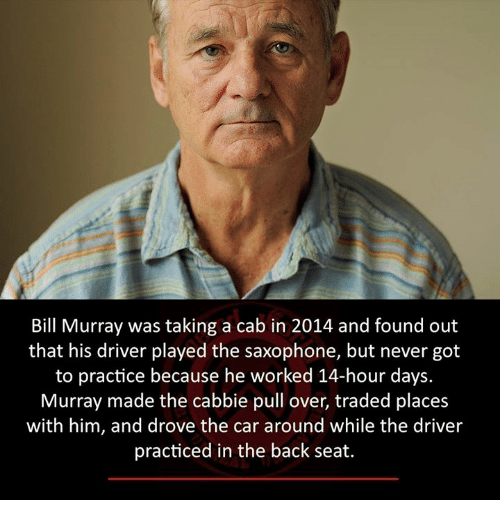 bill murray was taking a cab in 2014 and found 8407091 ✅ 25 best memes about bill murray bill murray memes