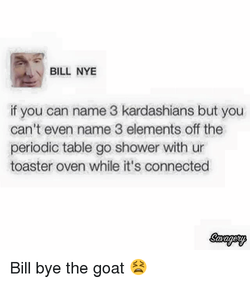 Bill nye if you can name 3 kardashians but you cant even name 3 bill nye blackpeopletwitter and kardashians bill nye if you can name 3 kardashians urtaz Gallery