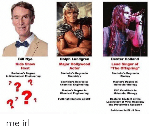 Bill Nye Kids Show Host Dolph Lundgren Major Hollywood Actor