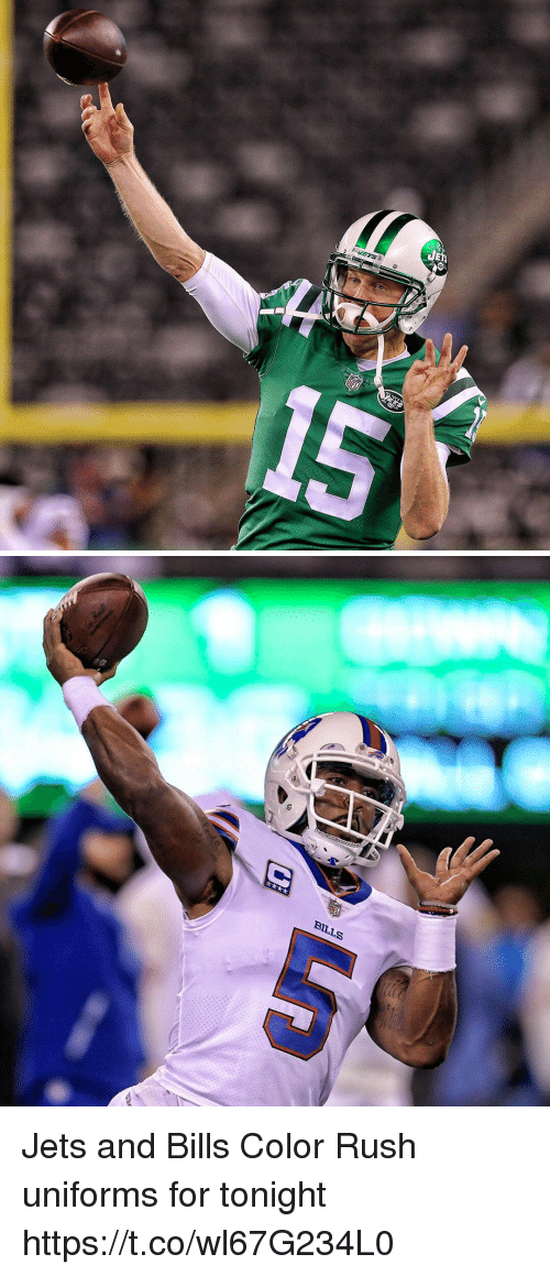 2e7aab55f22 BILLS Jets and Bills Color Rush Uniforms for Tonight ...