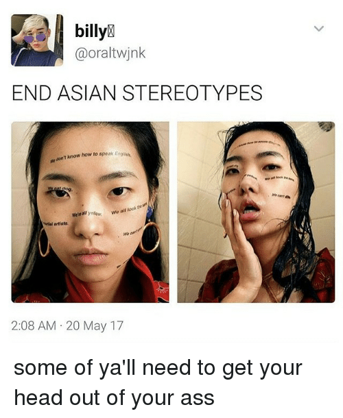 What is the asian sterotype